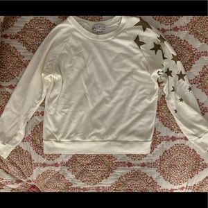 Wildfox Couture Star pullover